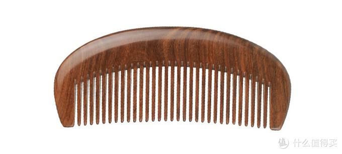 绿檀1.5mm齿距整木梳